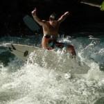 Steve Ratzisberger Eisbach München Munich River Surfer Fluss Surfing