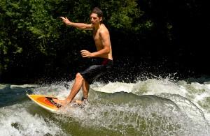 dee dee wallauer eisbach river surfing