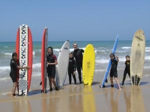 Thomas Mayr La Luz Surfcamp Surfkurs Surfen Lernen El Palmar