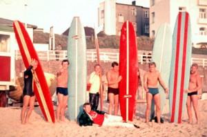 Surf Film Väter des Wellenreitens die ersten Surfer Deutschlands
