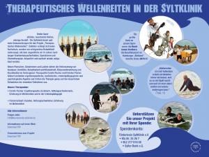 therapeutisches Wellenreiten Syltklinik-Eisbach Muenchen river surfing charity session