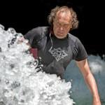 Eisbach-River-Surfer-Guenter Nusser Spray am Eisbach München 2