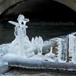 Eisbach Eiskunstwerk