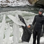 eisbach eisprinzessinnen bei der arbeit