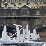eisbach munich ice art