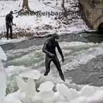 river surfing munich germany ice bach